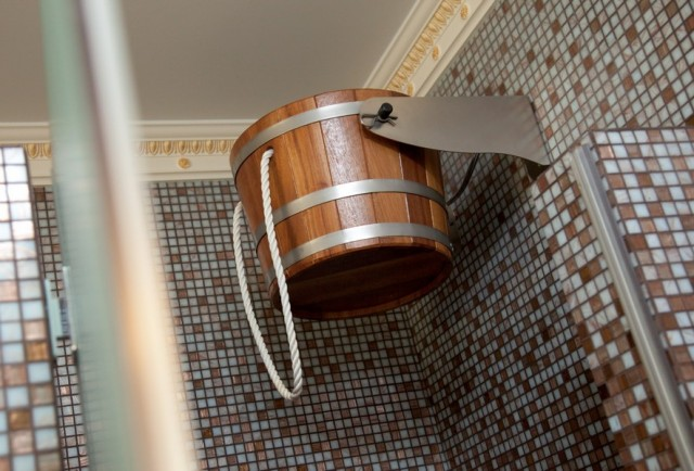 Обливное ведро для бани