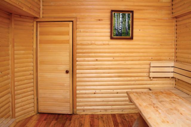 Дверь для бани из вагонки своими руками 34