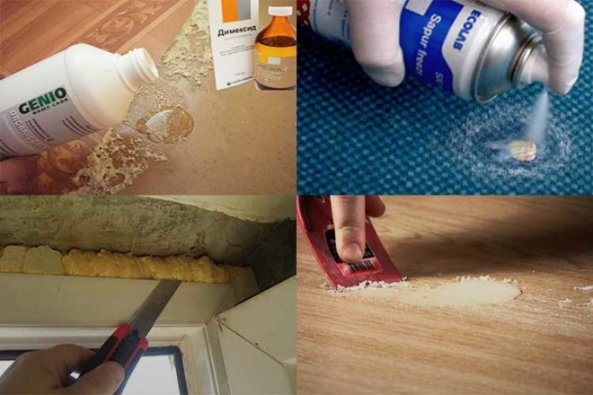 Чем смыть руки от монтажной пены в домашних условиях 819