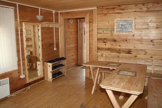 Комната отдыха в бане как оформить и обустроить, выбор мебели, отделка