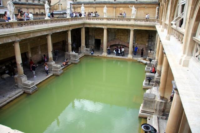 Бани в римской империи