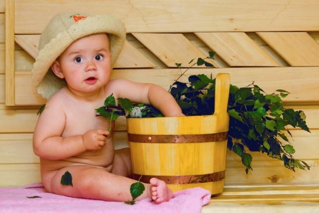Можно ли ребенку в баню или секреты оздоровления из прошлого