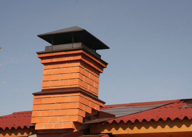 Как построить дымоход для бани