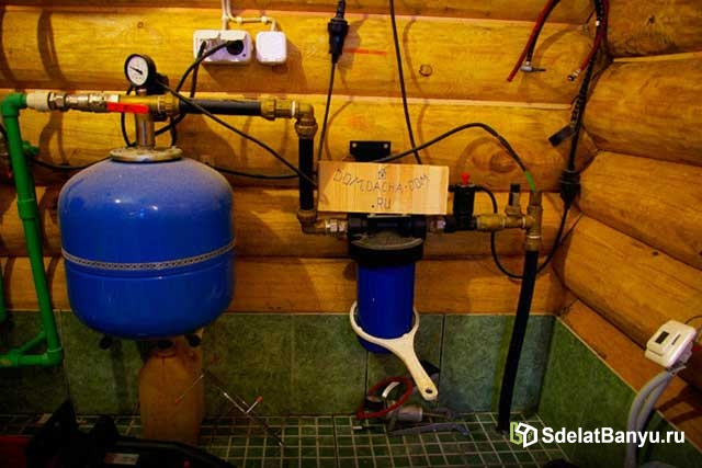 Бак для водоснабжения