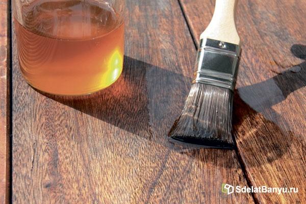Масло для дерева: пропитка и обработка воском для защиты от гниения