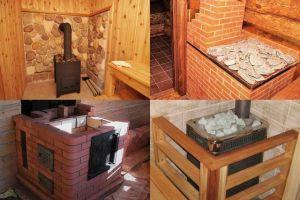 Печь-каменка для бани: виды, требования и технология возведения своими руками