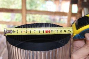 Делаем расчет диаметра, высоты и размера трубы дымохода для бани