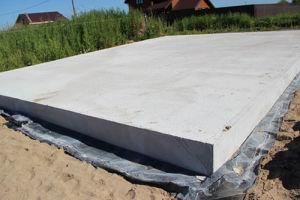 Монолитный плитный фундамент для бани — как сделать своими руками легко и просто