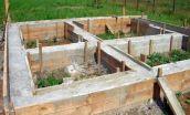 Фундамент для бани: основные виды, правила расчета нагрузки и монтаж своими руками