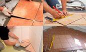 Как положить плитку на деревянный пол: способы укладки и описание процесса