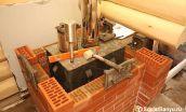 Облицовка железной печки кирпичом – выбор материала и технология кладки