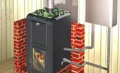 Теплообменник для банной печи: использовать встроенный или сделать своими руками