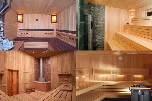 Чем обшить стены в бане внутри