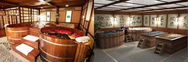 Японские бани фото