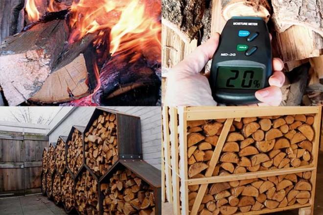 Температура горения костра из дров на воздухе