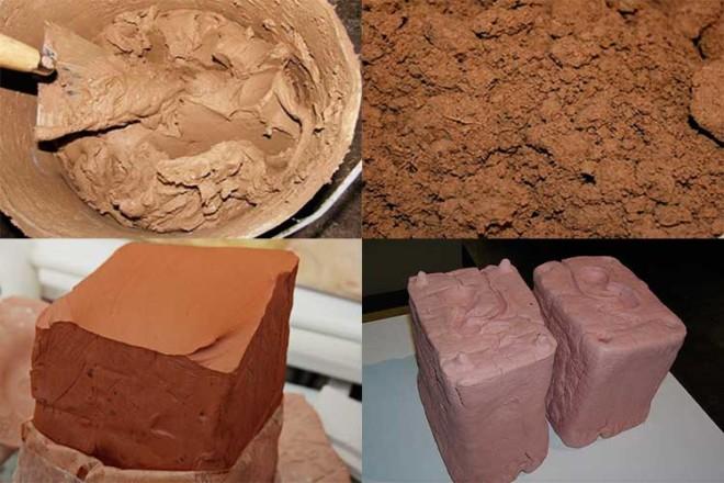 Шамотная глина, инструкция ( фото)