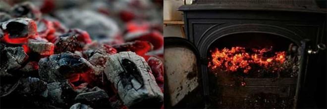 Как топить печь углем в своем доме