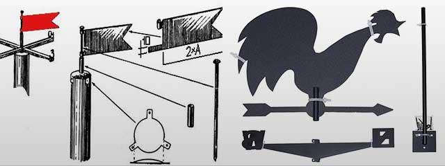 Самодельный флюгер в домашних условиях